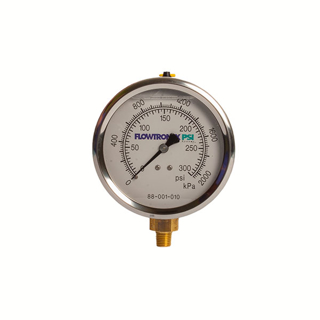 "Picture of 4"" PRESSURE GAUGE 
