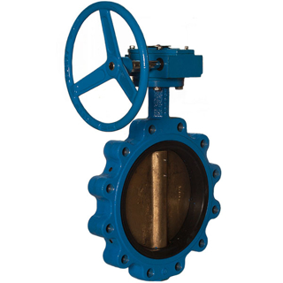 Picture of WATTS BUTTERFLY VALVE | LUG STYLE | GEAR OPERATED | 10"