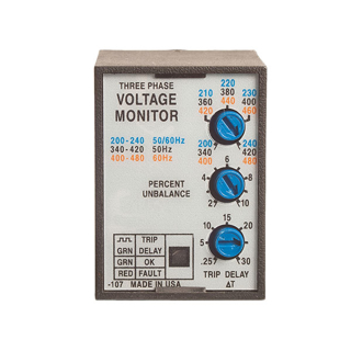 Picture of ABB PHASE MONITOR | 230/460V | SSAC | PLMU11