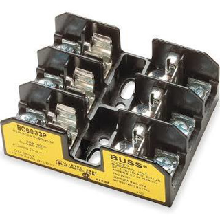 Picture of FUSE BLOCK | CLASS CC | 30 AMP | 3 POLE | BCM6033P