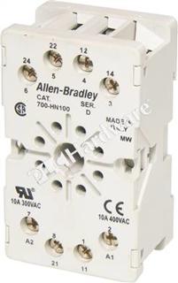 Picture of ALLEN BRADLEY TUBE BASE SOCKET | 8 PIN | 700HN100