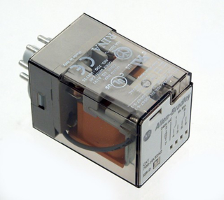 Picture of ALLEN BRADLEY RELAY | 8-PIN | 24VAC