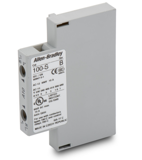 Picture of ALLEN BRADLEY AUXILIARY CONTACT | SIDE MOUNTED | N.O. | 100-SA10