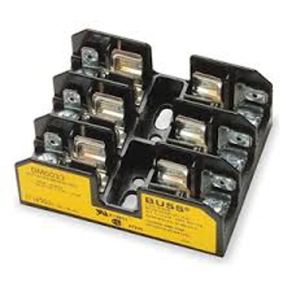 Picture of BUSSMAN FUSE BLOCK | CLASS J | 100 AMP | 3 POLE | J60100-3CR