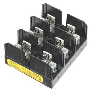 Picture of BUSSMAN FUSE BLOCK | CLASS J | 60 AMP | 3 POLE | J60060-3CR
