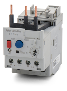 Picture of ALLEN BRADLEY OVERLOAD RELAY | AUTO OR MANUAL RESET | 1-5 AMPS | 193-EECB