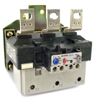 Picture of ALLEN BRADLEY OVERLOAD RELAY | MANUAL RESET | 23-75 AMPS | 193-A1K4