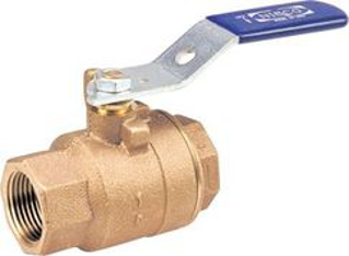 Picture of NIBCO BALL VALVE   BRASS   THREADED   1-1/4 IN   T580A