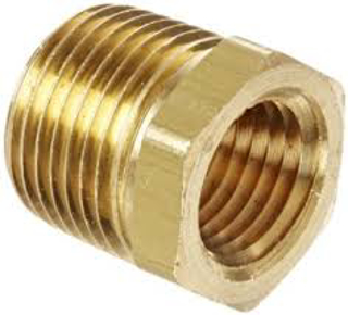 "Picture of X105L LIMIT SWITCH BUSHING | CLAVAL | 1"" X 3/4"" BRASS 