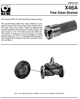 "Picture of FLOW CLEAN STRAINER | 3/4"" X 1/2"" 
