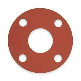 "Picture of RUBBER FLANGE GASKET | 3"" X 1/8"""