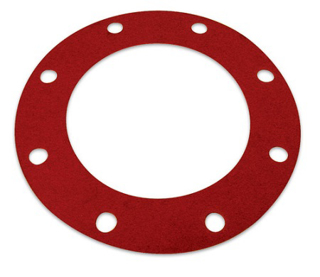 "Picture of RUBBER FLANGE GASKET | 8"" X 1/8"""