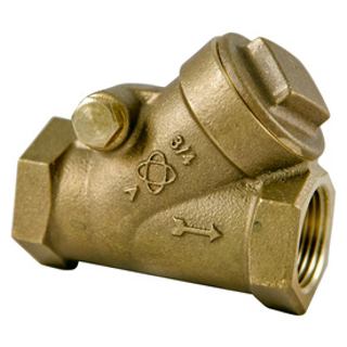 Picture of SWING CHECK VALVE | BRASS | 1""