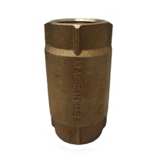 Picture of CHECK VALVE | BRASS | 1-1/2""