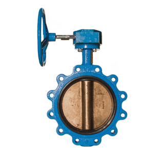 Picture of WATTS BUTTERFLY VALVE | LUG STYLE | GEAR OPERATED | 6"