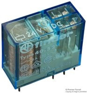 Picture of FINDER RELAY | DPDT | 24VDC