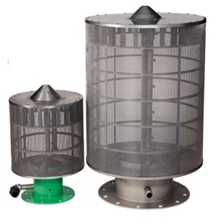 "Picture of LAKOS SELF CLEANING LAKE FILTER SCREEN | 16"" OUTLET 