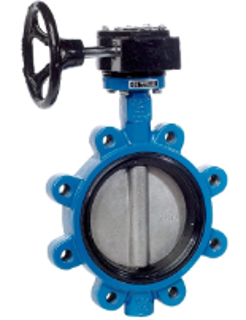 Picture of STONETOWN BUTTERFLY VALVE | LUG STYLE | GEAR OPERATED | 10"
